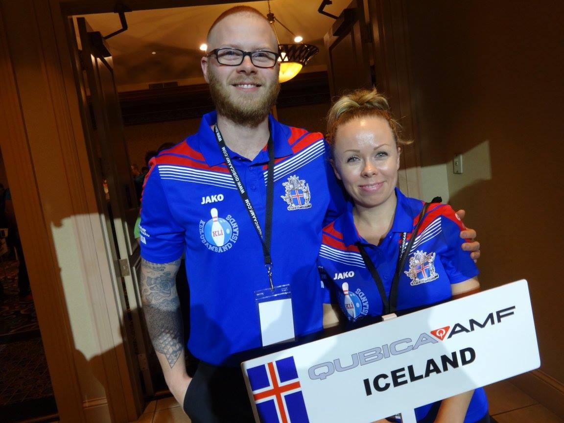 Systkyning Hafþór og Alda Harðarbörn keppa á AMF World Cup í Las Vegas 2015