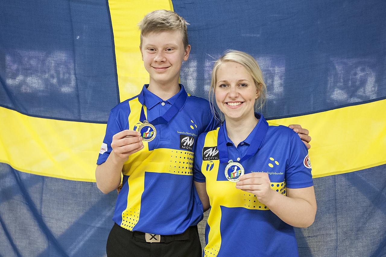 William Svensson og Casja Wegner sigrðuðu í Masters á EYC2016